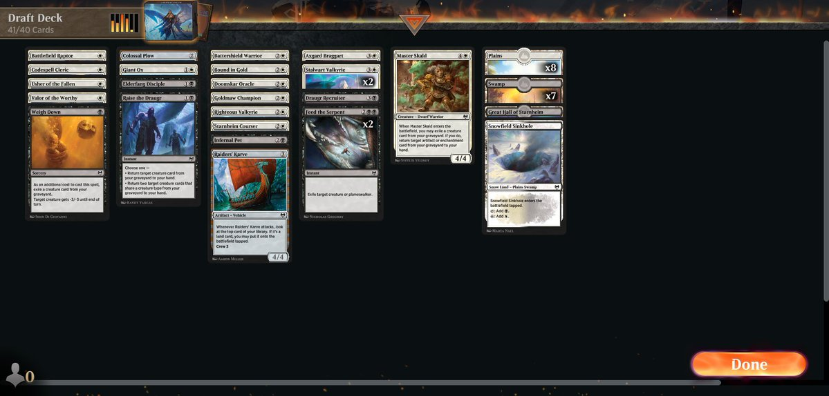 Drafting Kaldheim ep7 https://www.twitch.tv/twitchyroy #mtg #magicarena #twitch #kaldheim Ugh, I continued to be terrible I drafted two BW decks today, both performed terribly. Or I did, whatever. YT: https://www.youtube.com/watch?v=cXc-gyBtfvE