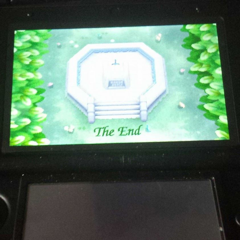 Finished A Link Between Worlds, fantastic game!