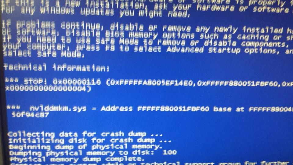 Bsod again, even after system restore. Time to reinstall windows?