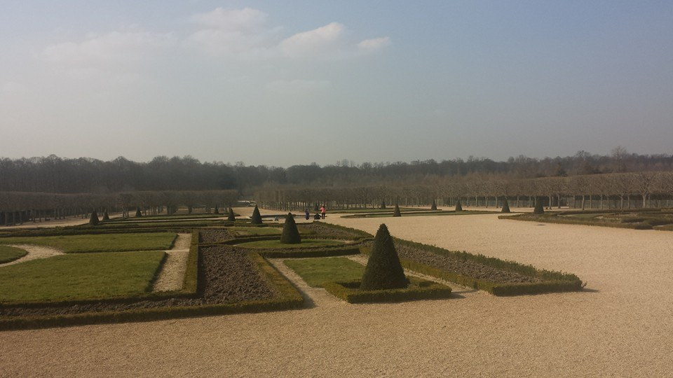 The gardens of versaille