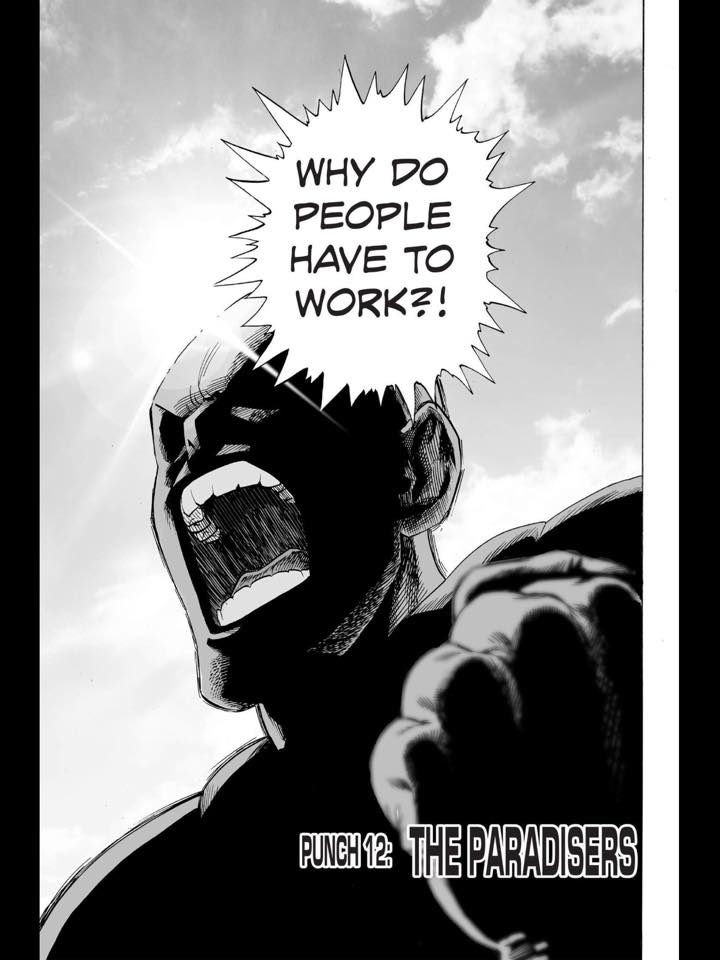 #fridaythoughts #onepunchman