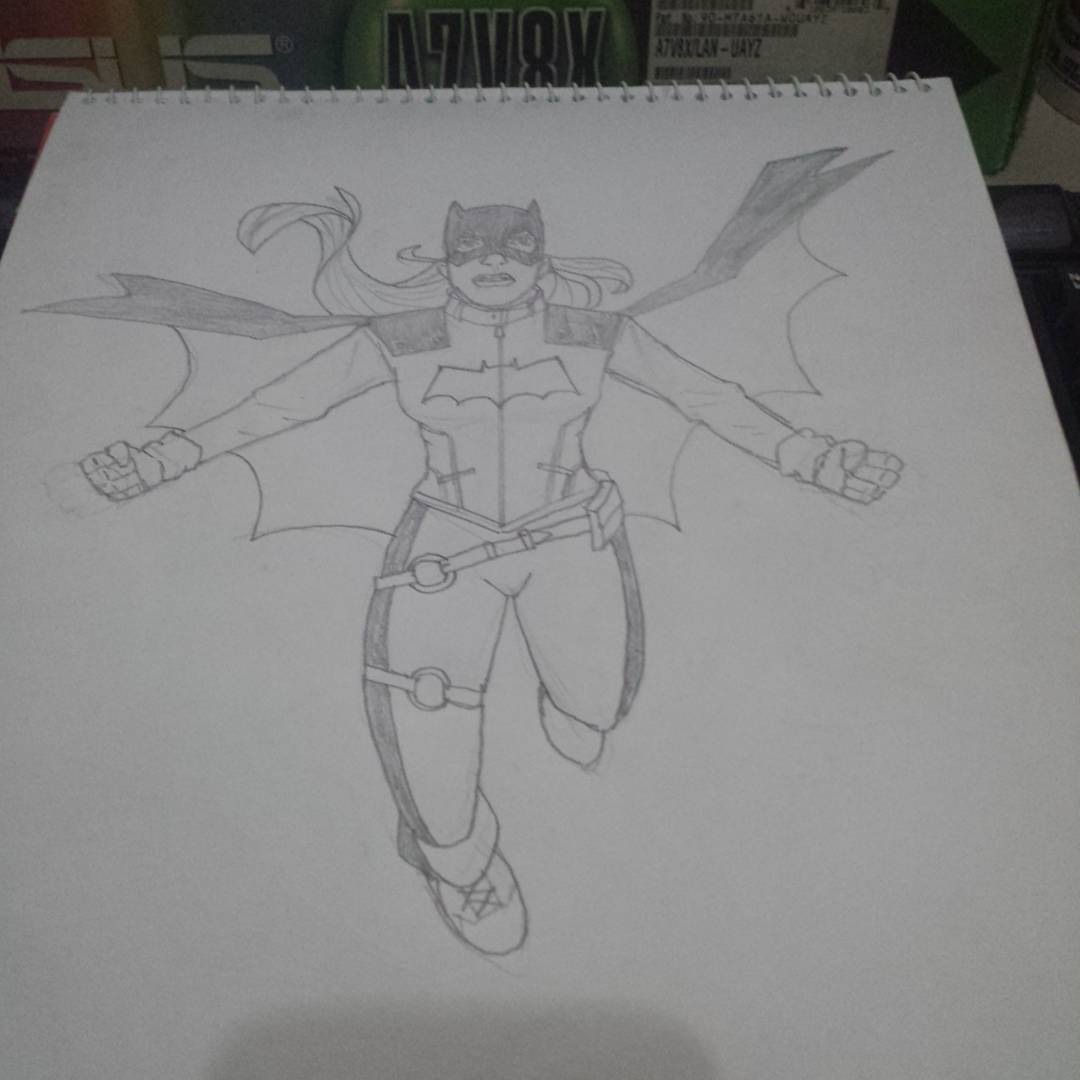 Batgirl #sketchdaily