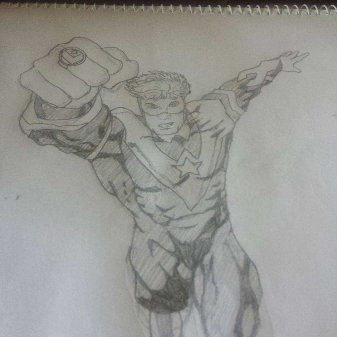 Booster Gold #sketchdaily
