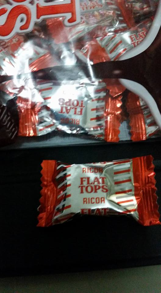 Change has indeed come... iba na wrapper ng flat tops!