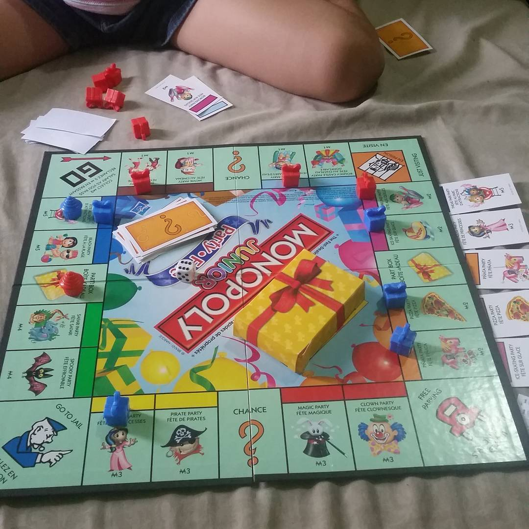Boxing day Monopoly Junior