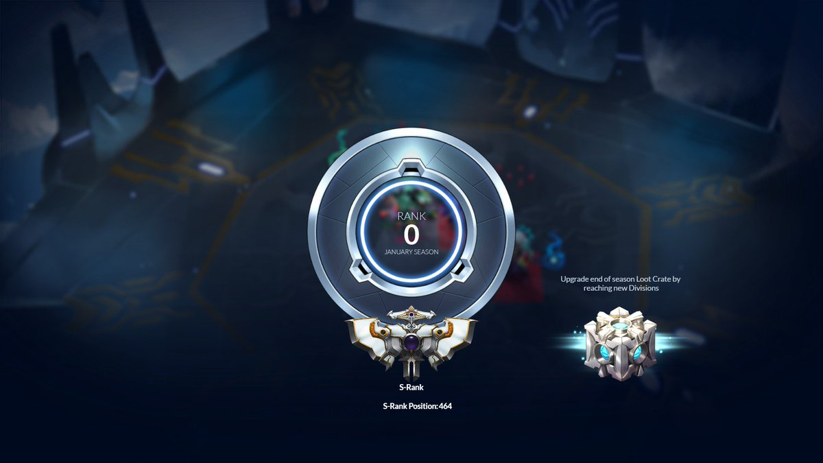 OMG after grinding for so long with a F2P account I finally made S-Rank on @PlayDuelyst ! And on the last day of the season too! T_T :joy: