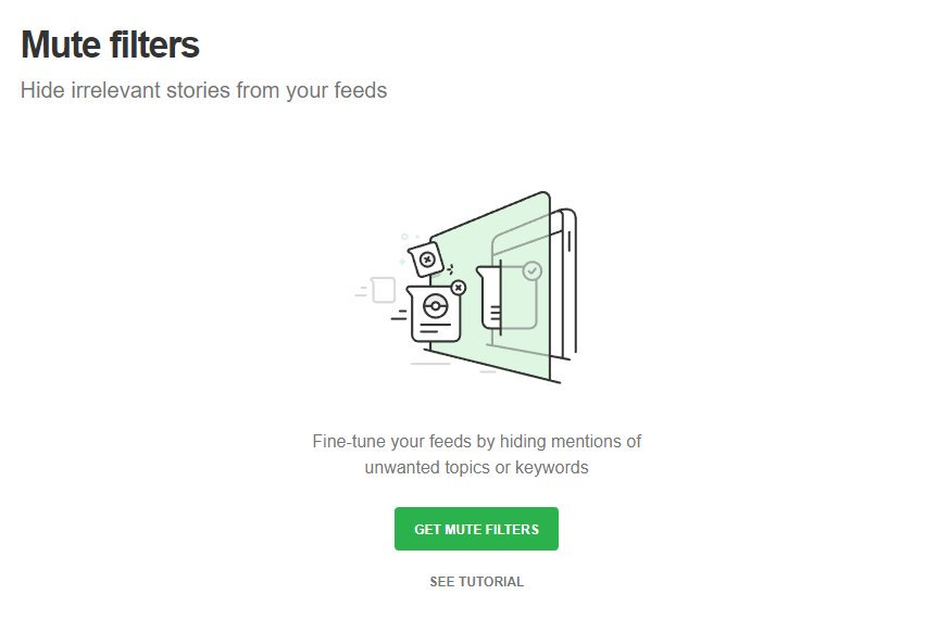 FB/Twitter need something like this (screenshot is from @Feedly)