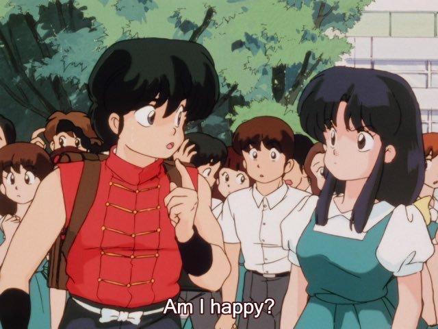 RT @aestheticsweeb: (Ranma vs happiness)
