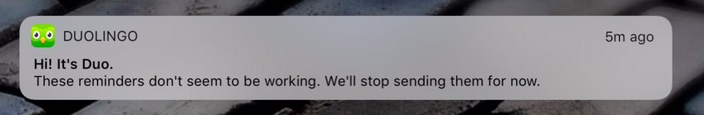 Whenever I break my duolingo streak, I just take a couple of weeks away from it before I start it back up. In the meantime, the app will passive agressivle try to shame me