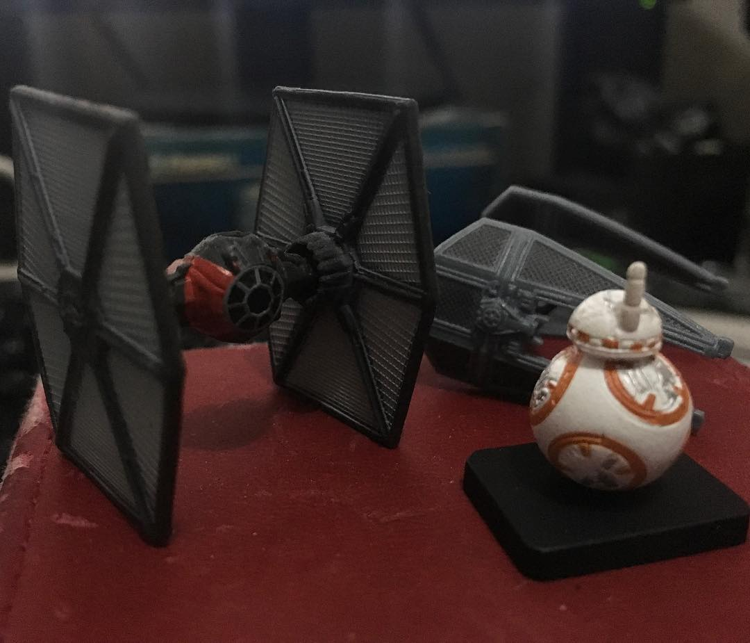 Tiny #StarWars things