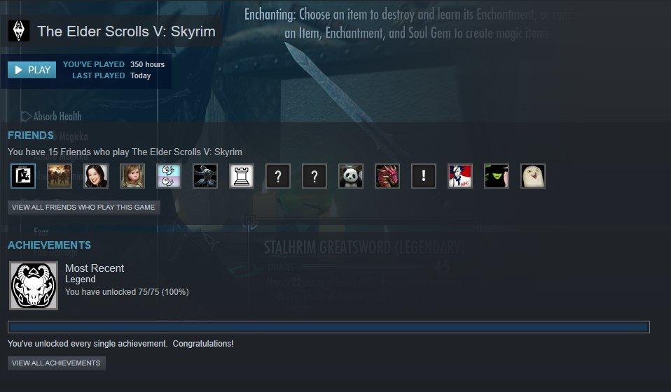 I finally found a Legendary Dragon!! I can finally put this game to rest lol #skyrim #lategamer