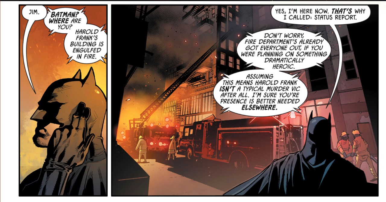 Detective Comics #988 by James Robinson and Stephen Segovia. Grammatical error missed by editors