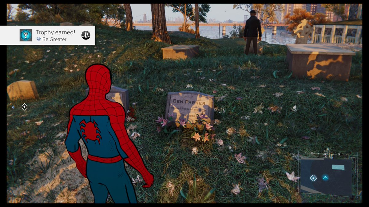 Marvel's Spider-Man Be Greater (Platinum) Collect all Trophies #PS4share https://store.playstation.com/#!/en-us/tid=CUSA02299_00