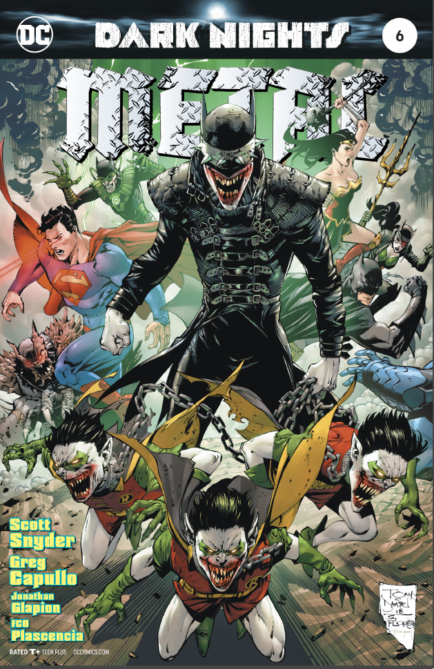 Dark Knights Metal #6 variant cover by Tony Daniel