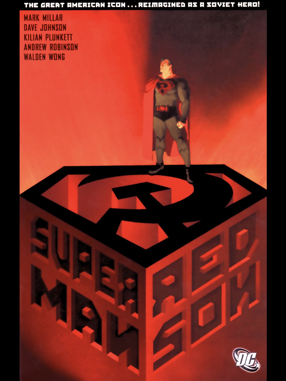Superman Red Son cover by Dave Johnson