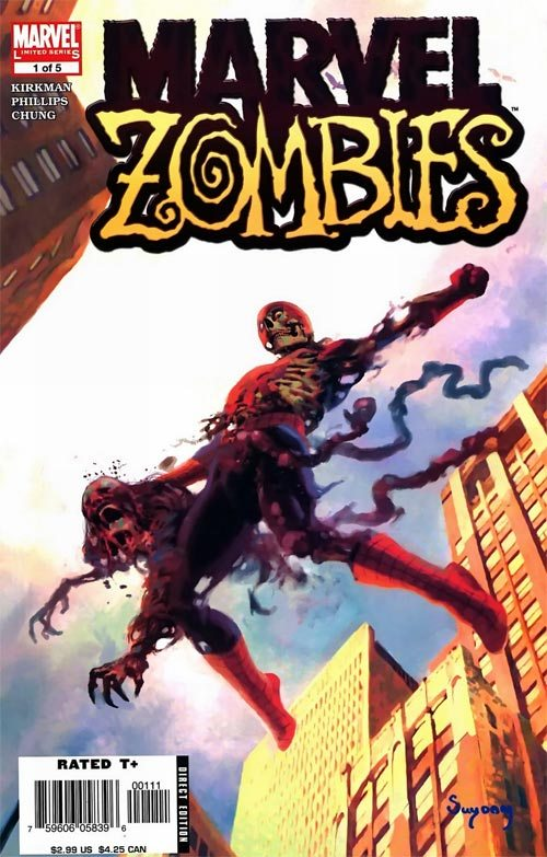 It's Spider-Man week on ireadcomicbooks! Here's Marvel Zombies #1 Amazing Fantasy tribute cover by Arthur Suydam