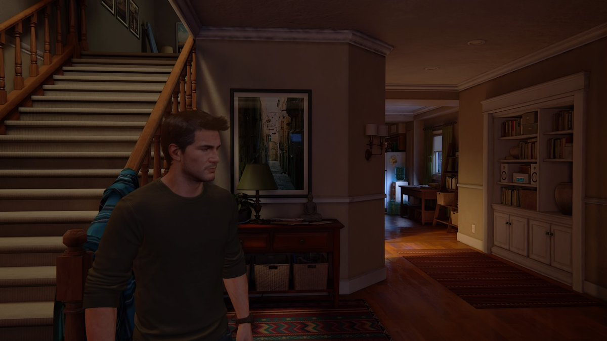 Started Uncharted 4 and gotta admit, kinda envious of how nice Drake's house is #PS4share