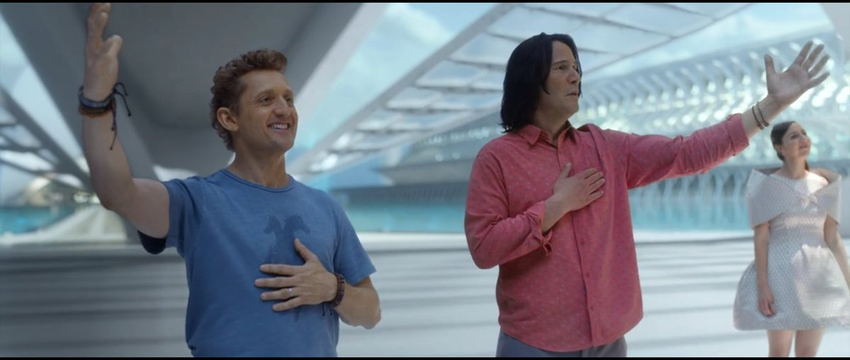 Bill and Ted Face the Music is a most excellent sequel