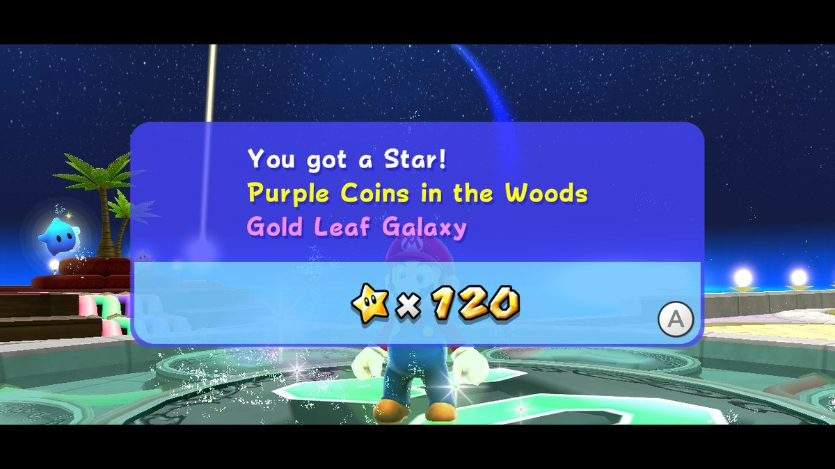 120 stars! I'll probably save that Luigi run for some other time though #SuperMario3DAllStars #NintendoSwitch