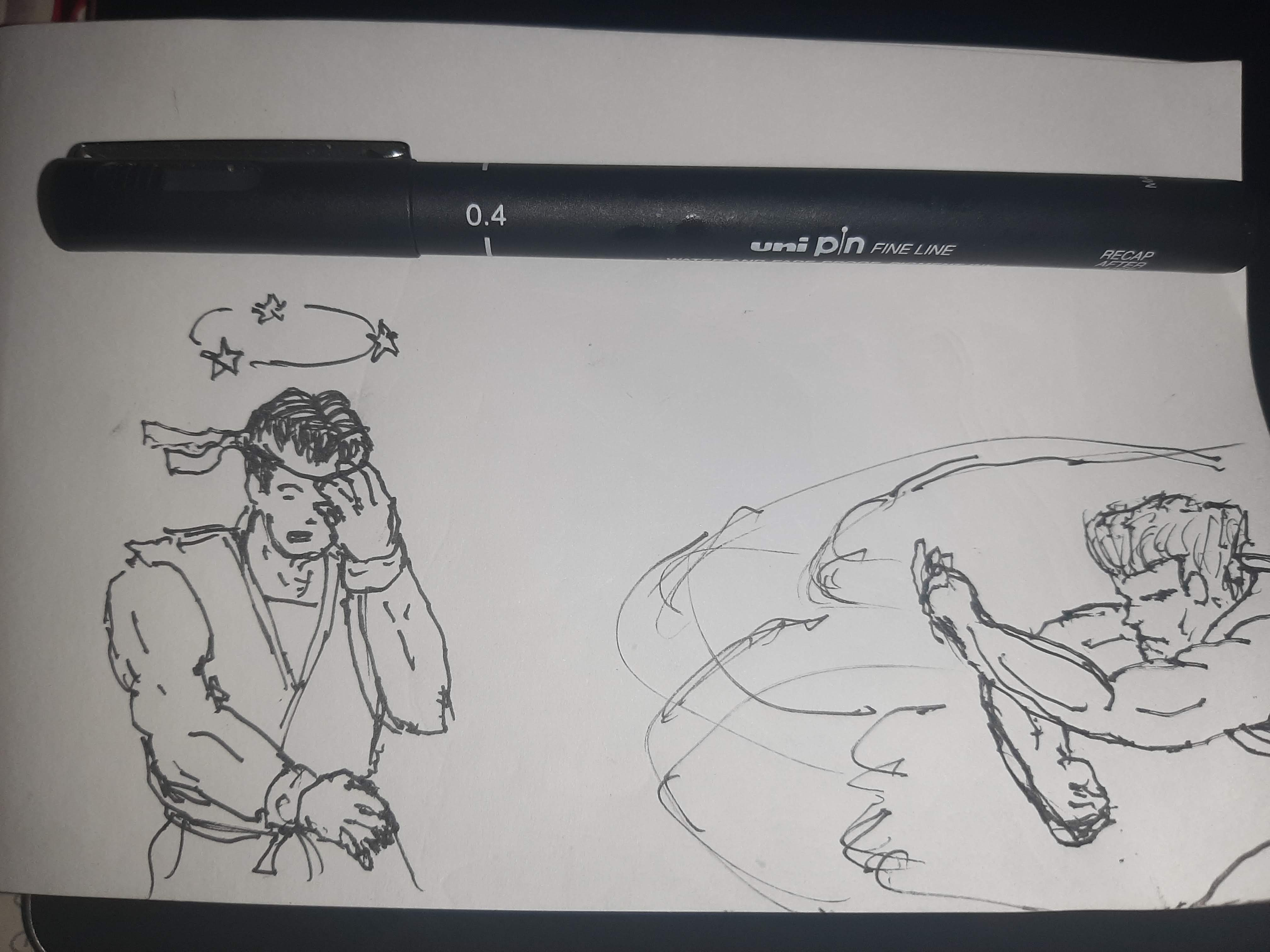 Inktober 2020 day 19: DIZZY I will admit I was being kind of lazy here. Official prompt list: https://inktober.com/rules