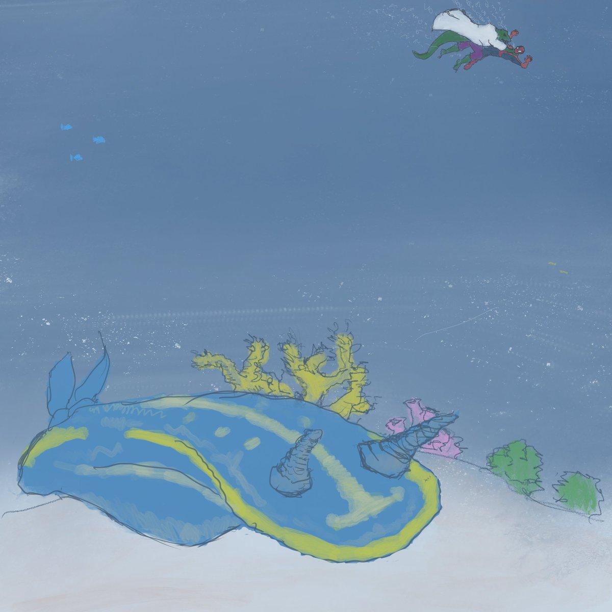 Underwater 3/365 #sketchdaily