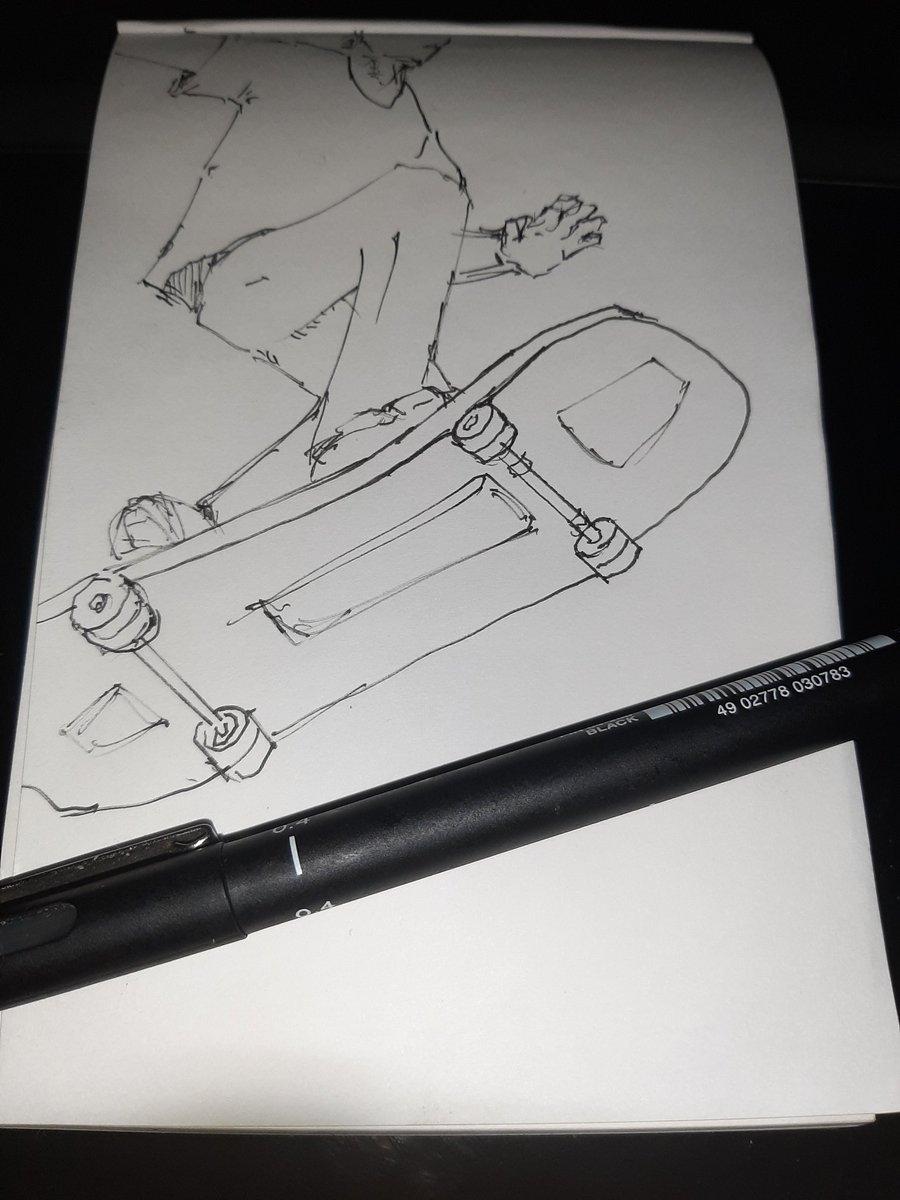 Skate 9/365 #sketchdaily