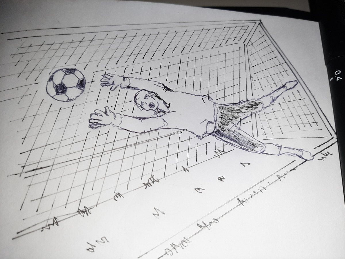 Goaaaaalll! #sketchdaily 19/365